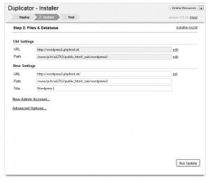 Nová a stará URL a cesty na serveri
