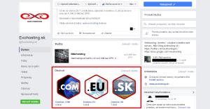 Facebook - Produkty