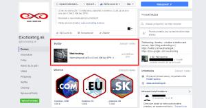 Facebook - Služby